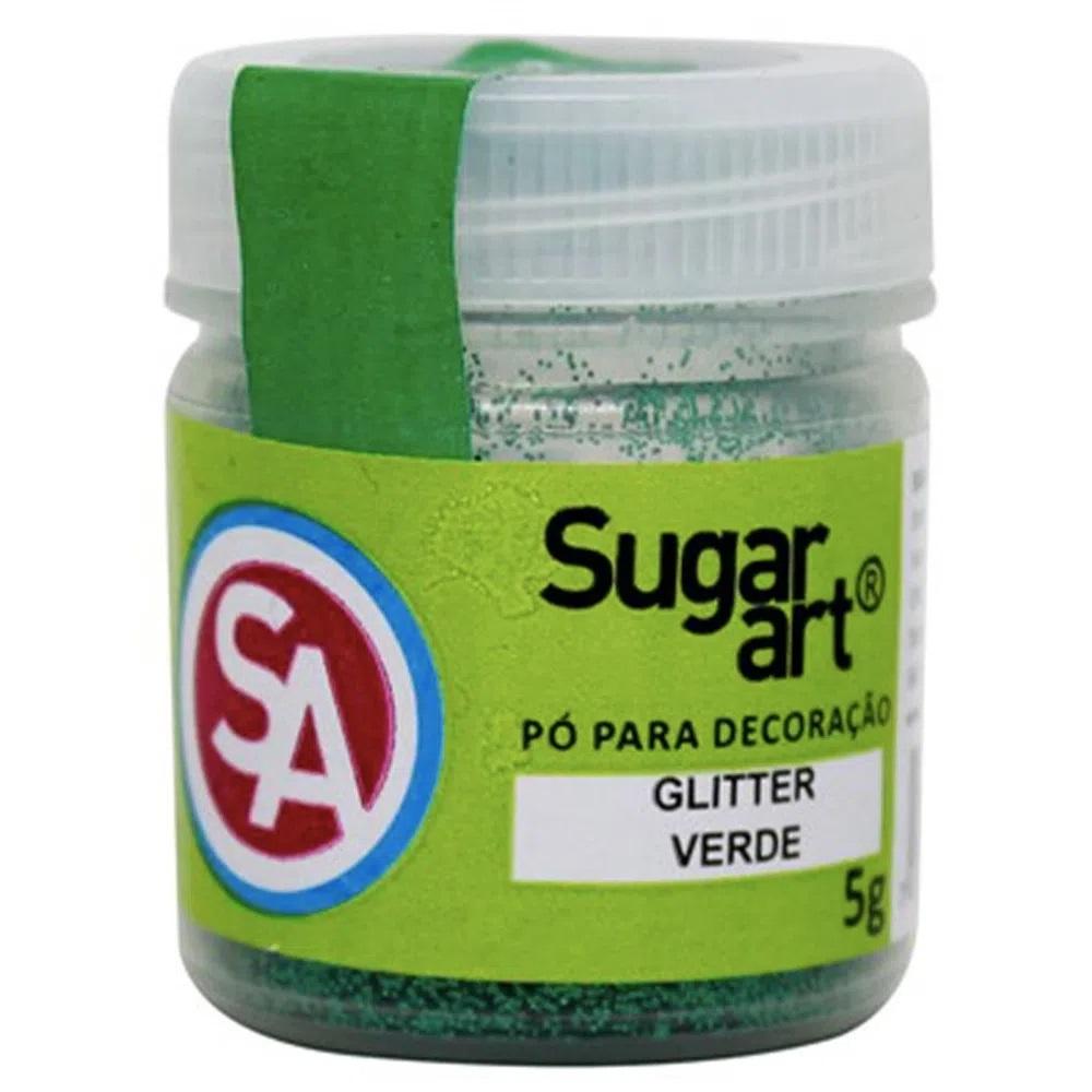 GLITTER PARA DECORAÇÃO 5G SUGAR ART - Verde