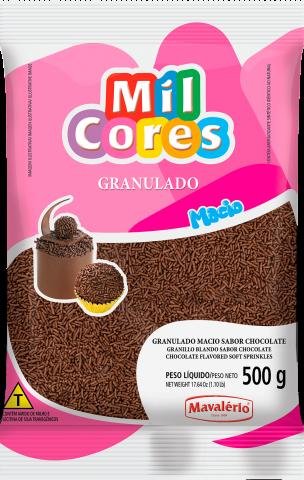 GRANULADO MACIO MIL CORES 500G MAVALÉRIO