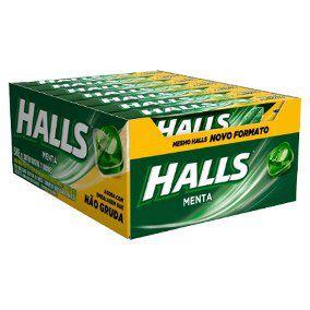 HALLS DISPLAY COM 21 UNIDADES - Menta
