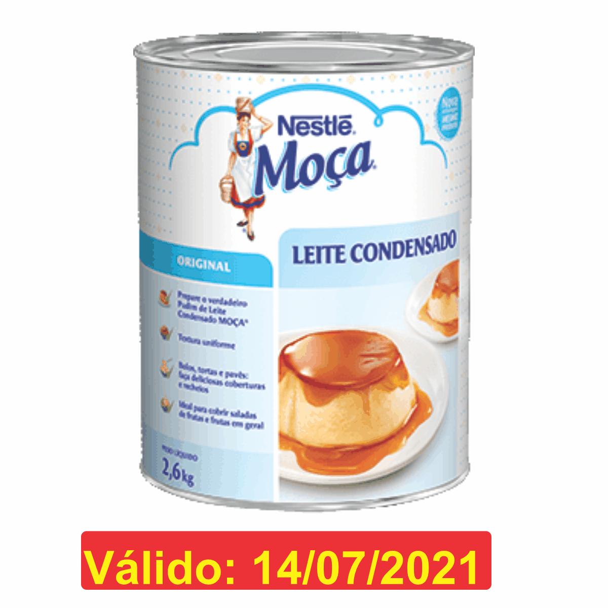LEITE CONDENSADO 2,6KG - NESTLÉ