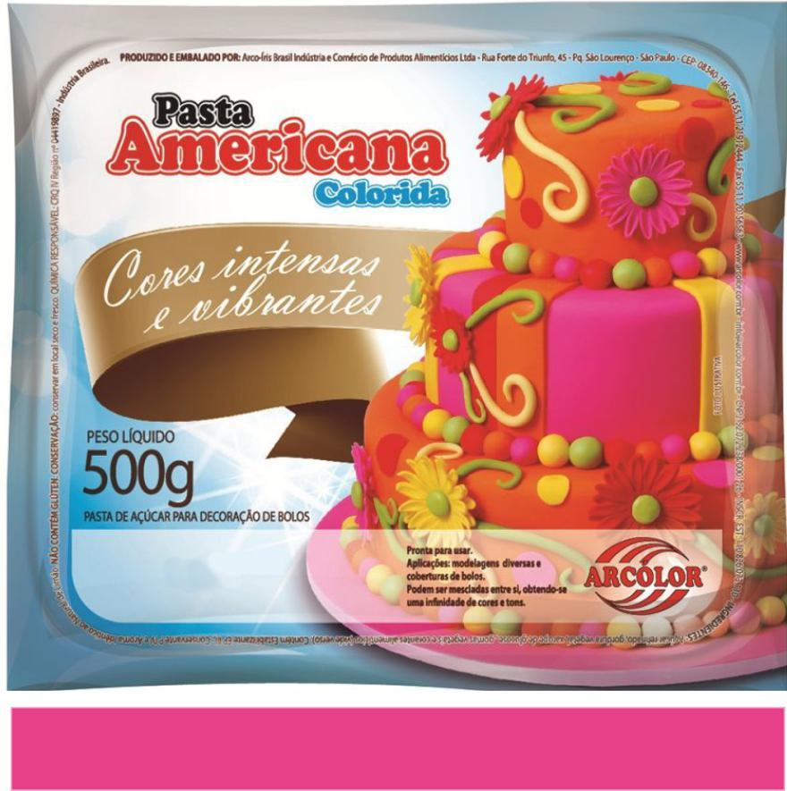 PASTA AMERICANA PINK ARCOLOR 500G