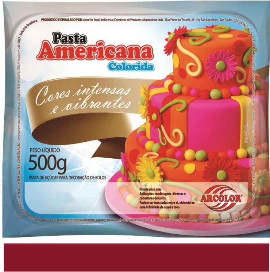 PASTA AMERICANA VINHO MARSALA ARCOLOR 500G