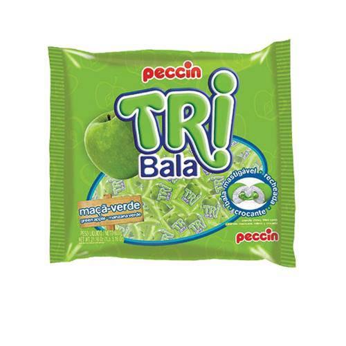 TRI BALA 500G PECCIN - Maça Verde