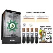KIT ESTUFA DARK BOX 100 GROW LED 576W QUANTUM
