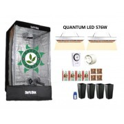 KIT DARK BOX 100 GROW QUANTUM LED 576W