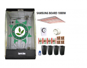 KIT CULTIVO INDOOR DARK BOX 100 GROW LED 1000W SAMSUNG QUANTUM BOARD