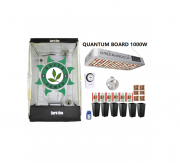 KIT CULTIVO INDOOR DARK BOX 120 QUANTUM GROW LED 1000W