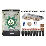 KIT CULTIVO INDOOR DARK BOX 140 QUANTUM GROW LED 1000W