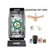 KIT CULTIVO INDOOR DARK BOX 40 GROW LED 150W DRONE QUANTUM