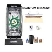 KIT CULTIVO INDOOR DARK BOX 40 GROW QUANTUM LED 288W