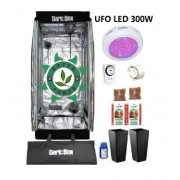 KIT CULTIVO INDOOR ESTUFA DARK BOX 60 UFO GROW LED 300W
