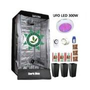 KIT CULTIVO INDOOR ESTUFA DARK BOX 80 UFO GROW LED 300W