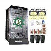 KIT DARK BOX 80 GROW QUANTUM COB LED 300W