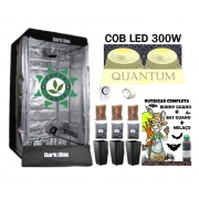 KIT ESTUFA DARK BOX 80 GROW QUANTUM COB LED 300W