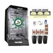 KIT DARK BOX 80 GROW QUANTUM COB LED 450W