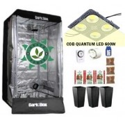 KIT DARK BOX 80 GROW QUANTUM COB LED 600W