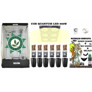 KIT ESTUFA DARK BOX 120 QUANTUM GROW COB LED 900W