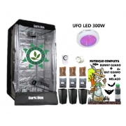 KIT ESTUFA DARK BOX 80 UFO GROW LED 300W