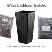 KIT VASO 7L + SUBSTRATO POWER MIX E TURFA