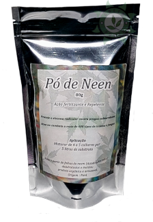 DEFENSIVO REPELENTE PÓ DE NEEM 80G