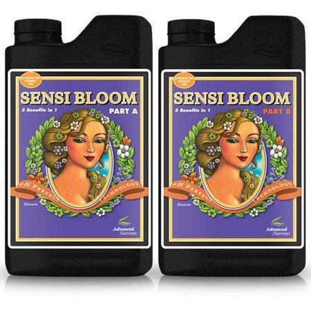 FERTILIZANTE MINERAL AN SENSI BLOOM A + B 1 LITRO