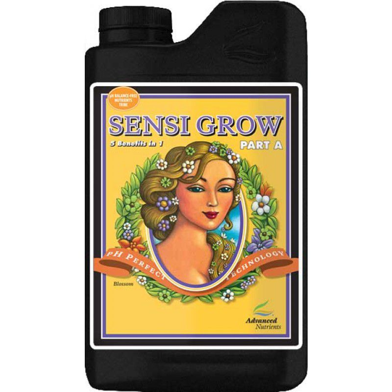 FERTILIZANTE MINERAL AN SENSI GROW A 1 LITRO