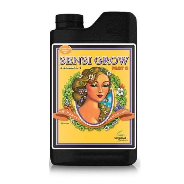 FERTILIZANTE MINERAL AN SENSI GROW B 1 LITRO