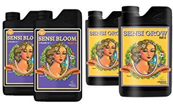 FERTILIZANTE MINERAL AN SENSI GROW + BLOOM A + B 100ML