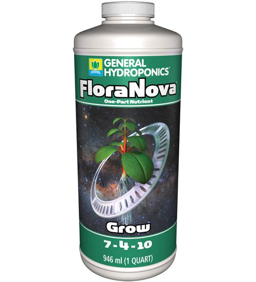FERTILIZANTE MINERAL GH FLORANOVA GROW 946ML