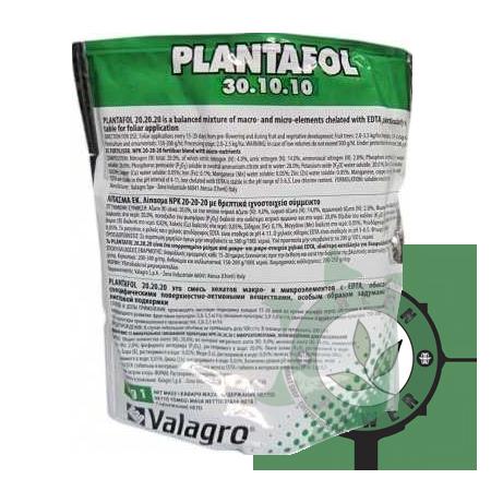 FERTILIZANTE MINERAL PLANTAFOL 30-10-10 100G