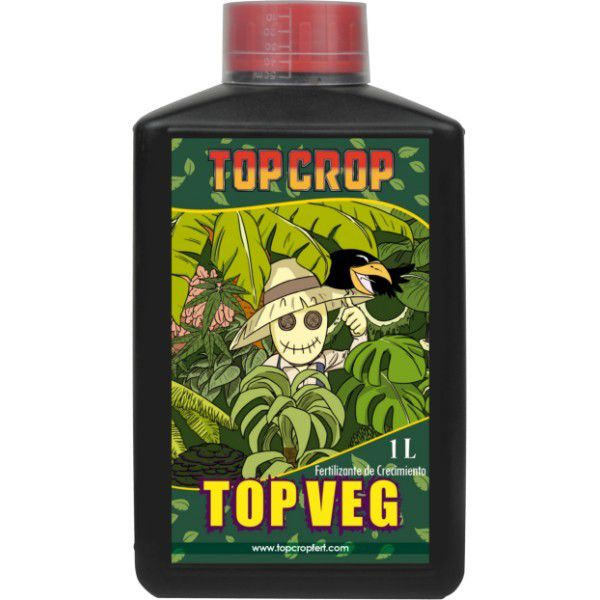 FERTILIZANTE TOP CROP VEG 1 LITRO