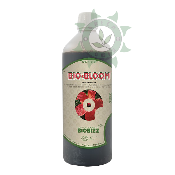 FERTILIZANTE ORGÂNICO BIOBIZZ BIO-BLOOM 1 LITRO