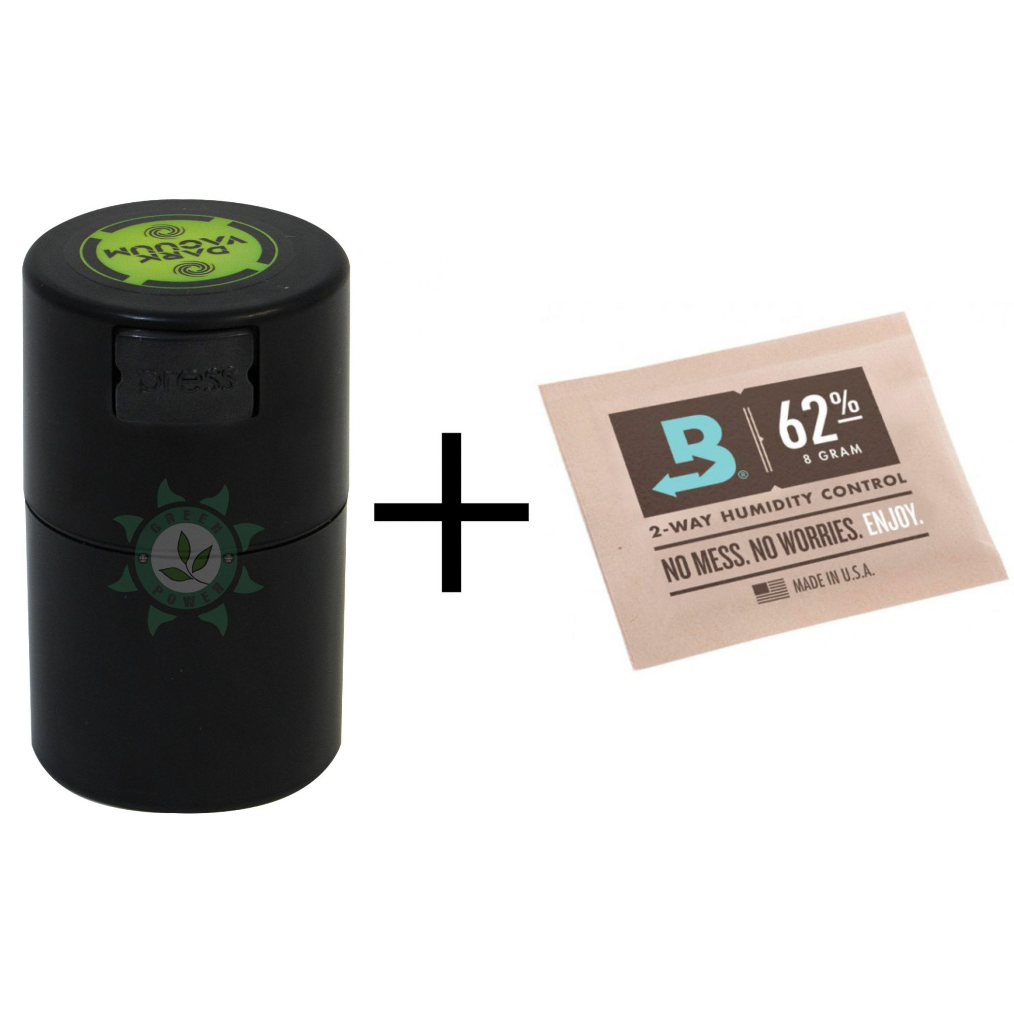 KIT BOVEDA 4G + POTE DARK VACUUM 60ML PRETO
