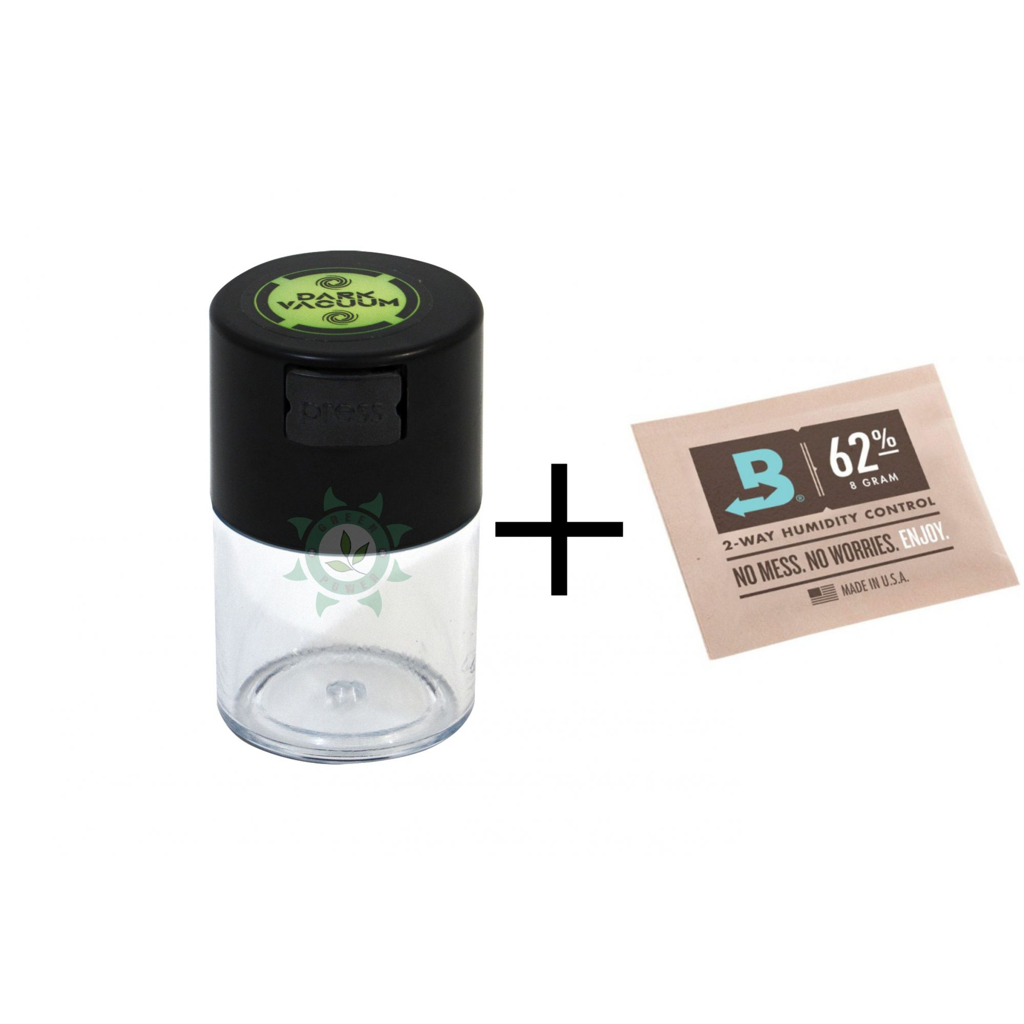KIT BOVEDA 4G + POTE DARK VACUUM 60ML TRANSPARENTE