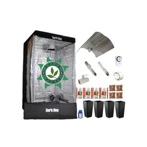 KIT CULTIVO INDOOR DARK BOX 100 VAPOR 400W