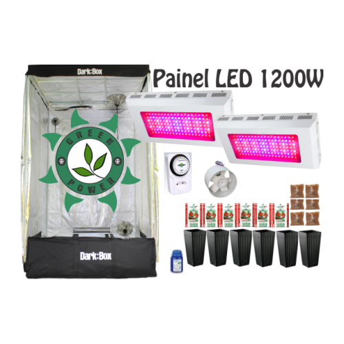 KIT DARK BOX 120 GROW LED 1200W