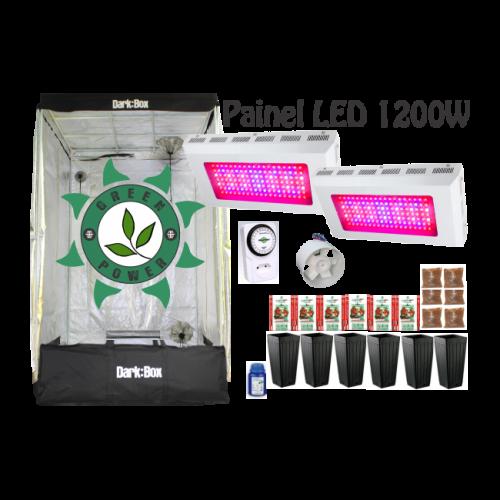 KIT DARK BOX 120 GROW LED 1200W