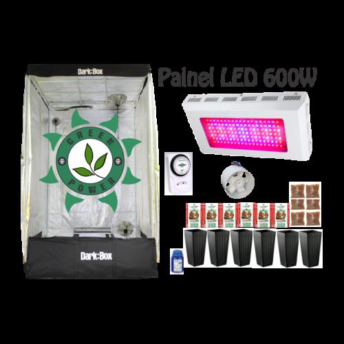 KIT DARK BOX 120 GROW LED 600W