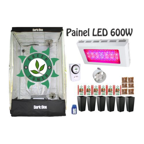 KIT DARK BOX 120 GROW LED 600W