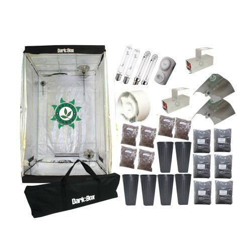 KIT CULTIVO INDOOR ESTUFA DARK BOX 120 VAPOR 800W