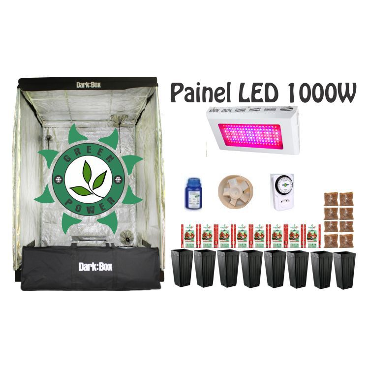 KIT DARK BOX 140 GROW LED 1000W