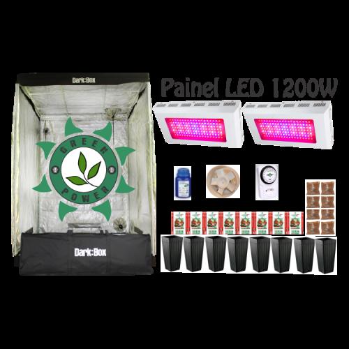 KIT DARK BOX 140 GROW LED 1200W
