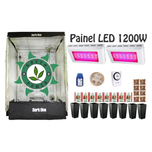 KIT DARK BOX 140 GROW LED 1200W