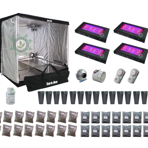 KIT DARK BOX 240 GROW LED 2400W