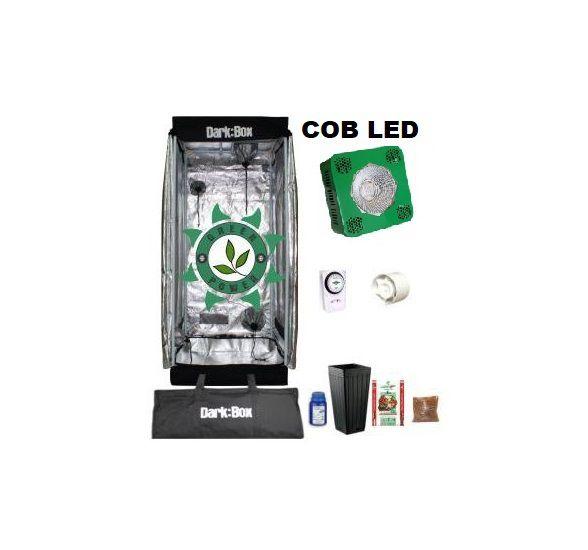 KIT DARK BOX 40 GROW COB LED 4600