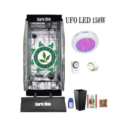 KIT DARK BOX 40 GROW LED 150W