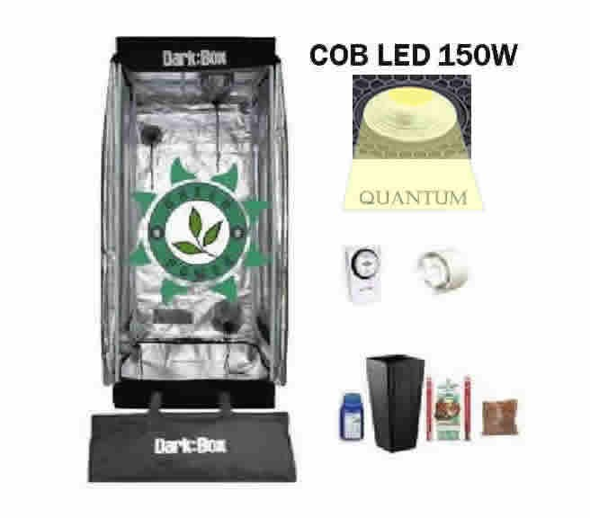 KIT DARK BOX 40 GROW QUANTUM COB LED 150W