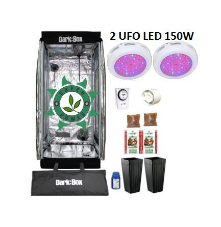 KIT DARK BOX 60 GROW LED 300W