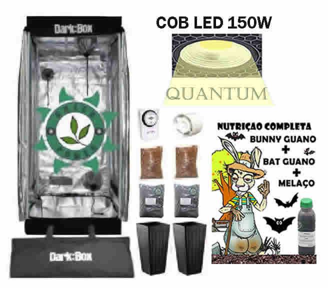 KIT ESTUFA DARK BOX 60 GROW QUANTUM COB LED 150W