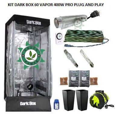 KIT DARK BOX 60 VAPOR 400W PRO